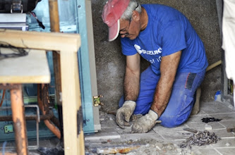 Photo: Vicente EA1IDQ como de costumbre, incansable. Su labor es impagable para nosotros.
