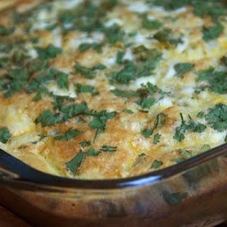 Impossible Quiche Pie {ReluctantEntertainer.com}.