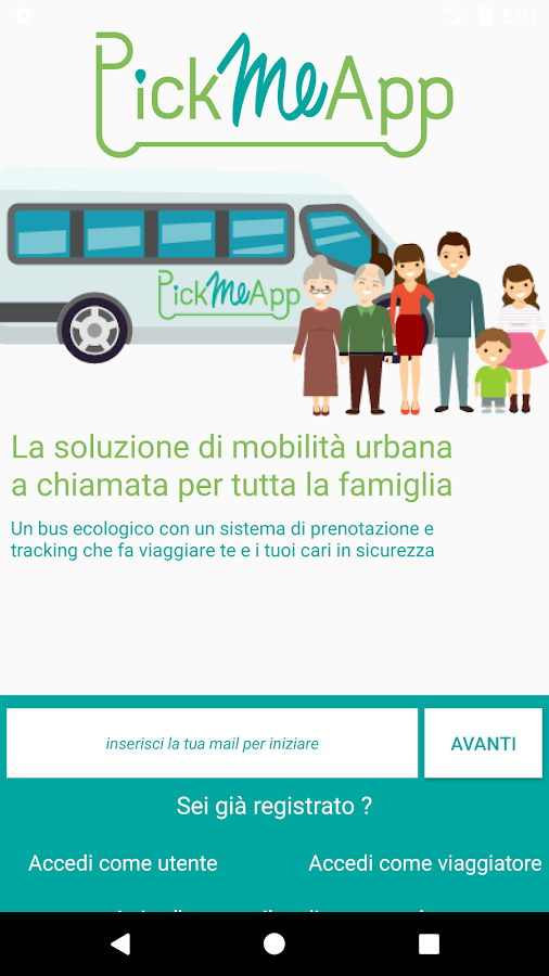 PickMeApp Mobility- screenshot