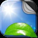 Feuille Verte Fond D'écran icon