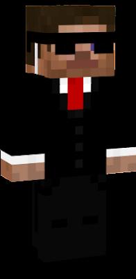 Стив в костюме агента.