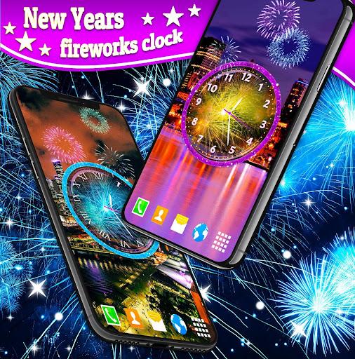Fireworks 2019 New Years Clock 4.8.4 screenshots 2