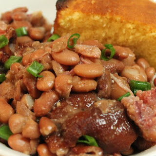 Pressure Cooker Ham and Beans