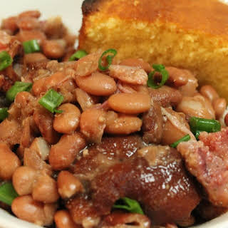Pressure Cooker Ham and Beans.