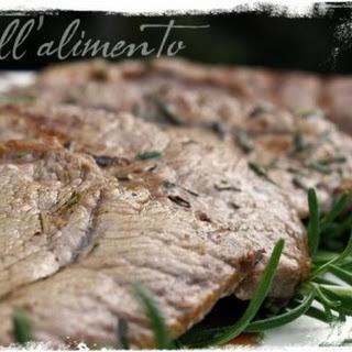 Bistecche al Rosmarino {Rosemary Steaks}