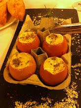 Photo: Eggs with seasonal ratatouille.