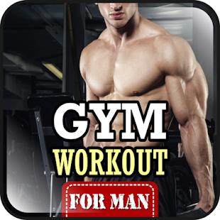 Gym workouts pro muže - náhled