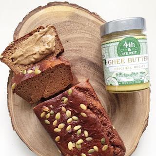 Flourless Pumpkin Almond Butter Bread