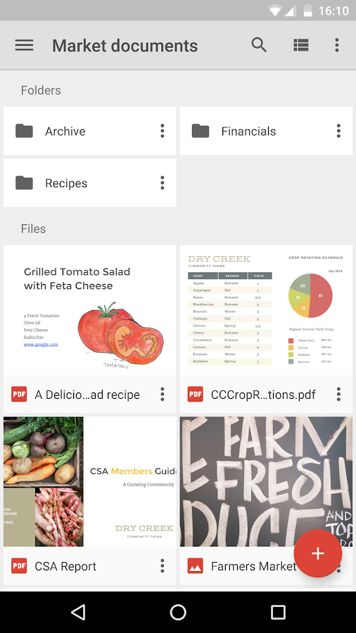 google drive android apps on google play