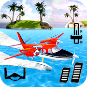 Wasserflugzeug Wasser Flug 3D