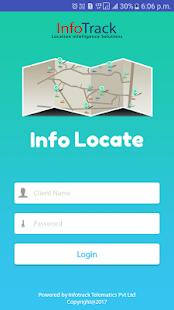 Infolocate V2.0 - náhled