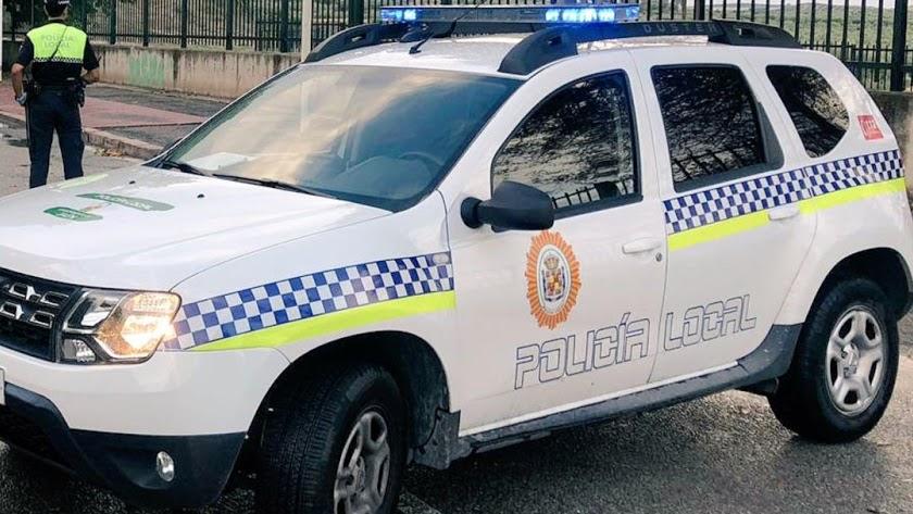 Imagen de archivo de un coche de Policía Local.
