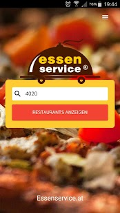 Essenservice.at- screenshot thumbnail