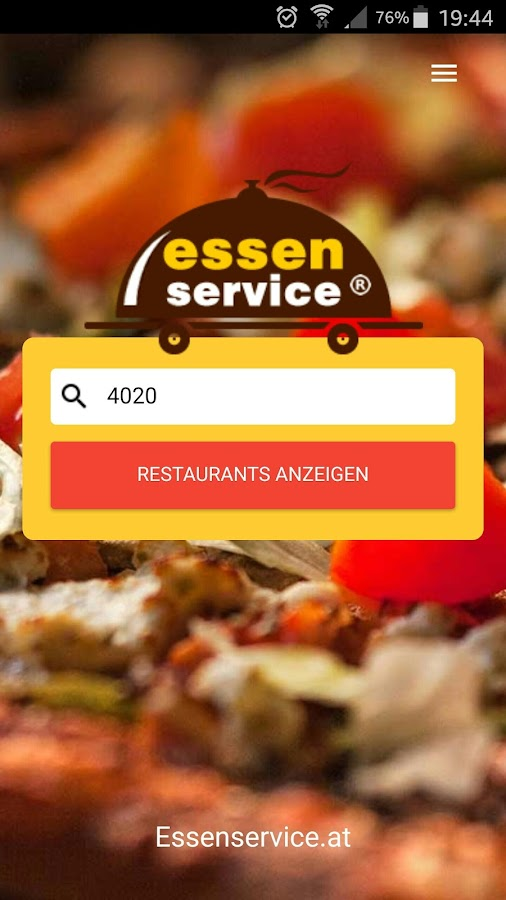 Essenservice.at- screenshot