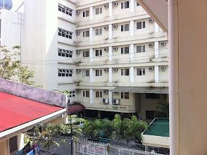 Photo: NLSから見たホテル