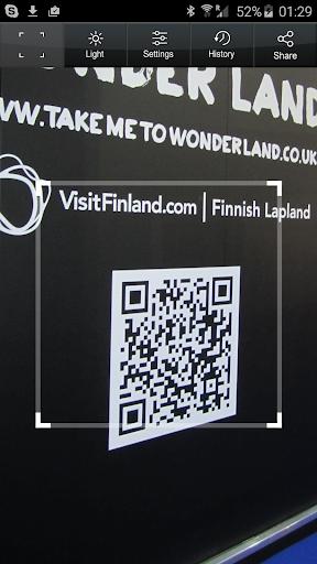 QR Code Reader PRO screenshot
