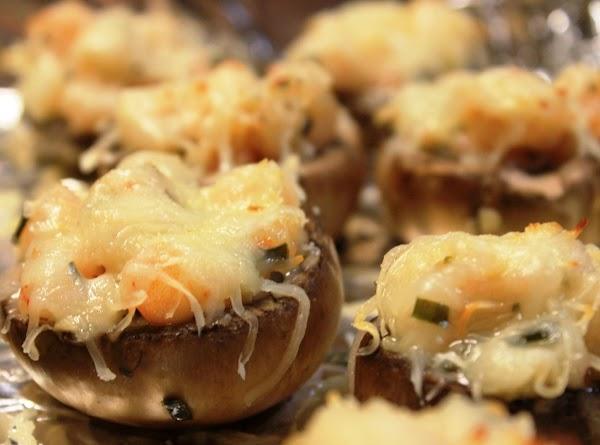 Baked Shrimp Stuffed Mushrooms Recipe
