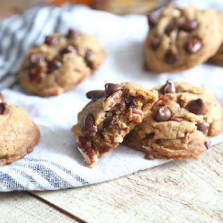 Bourbon Chocolate Pecan Cookies