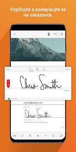 Adobe Acrobat Reader - náhled