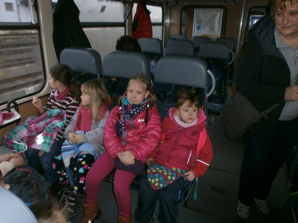Výlet vlakem do Příbora (MŠ, 2016)