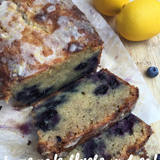 Homemade Blueberry Bread {keto / low carb}.