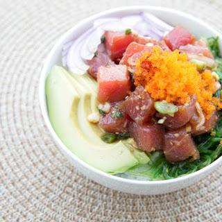 Hawaiian Spicy Ahi Poke Bowl