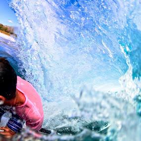 Drive by Barrel by Trevor Murphy - Sports & Fitness Surfing ( barrels, surfing, tmurphyphotography, randy townsend, costa rica )