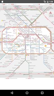 Berlin Subway (Metro) 2017 - náhled