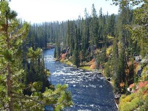 Photo: On progresse en direction de l'entrée du Yellostone National  Park