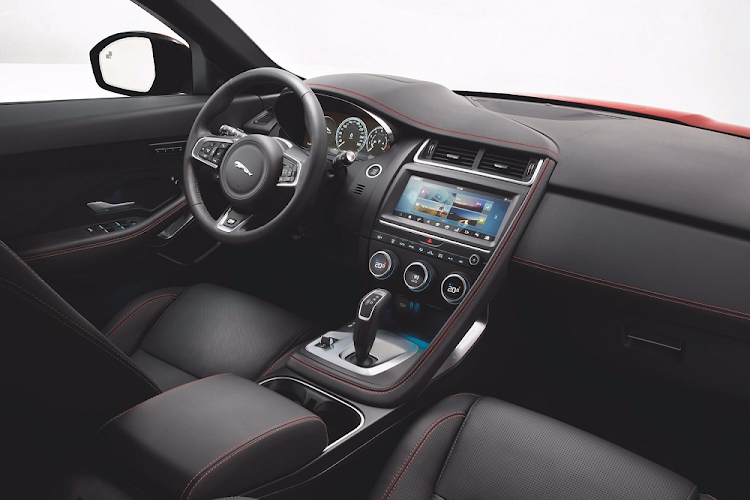 The interior gets its own design but with a Jaguar Pace family look.    Picture: SUPPLIED