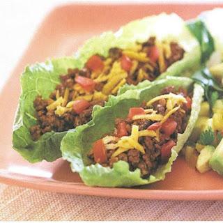 Picadillo Turkey Lettuce Wraps.