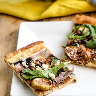Fig, Prosciutto and Gargonzola Pizza