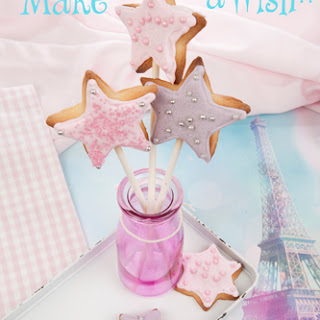 Fairy Wand Cookies.