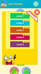 English Vocabulary:puzzle game - náhled