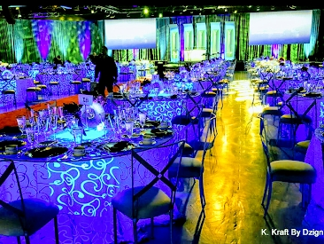Total event design, production and management. By Dzign is the source for all your event needs. 1000's of event rentals, floral, printing, lighting, furniture all in house.
