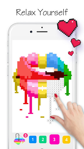 Coloring Life - Color by Number Book - screenshot
