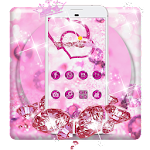 Shiny Twinkle Pink Glitter Theme Icon
