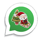 Figurinhas de natal para WhatsApp - WAStickerApps icon