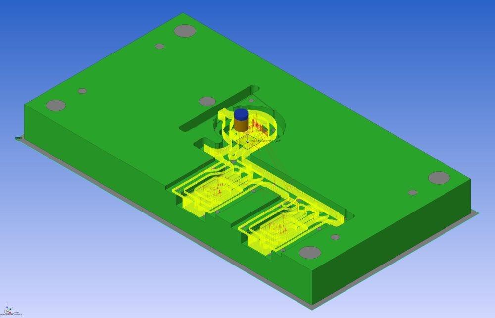 Проектирование прессформ с CAD/CAM/CAE-комплексом VISI и подготовка NC-кода