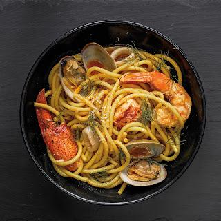 Seafood Pasta (Bucatini ai Frutti di Mare)