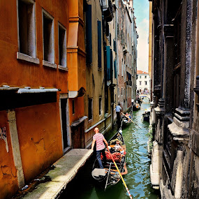 One Way Canal by Francis Xavier Camilleri - City,  Street & Park  Historic Districts