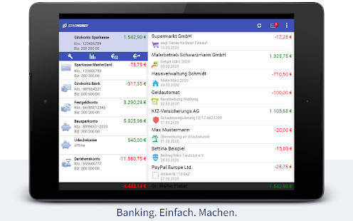 StarMoney - Banking + Kontenübersicht Screenshot