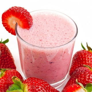 Delicious Strawberry Smoothie