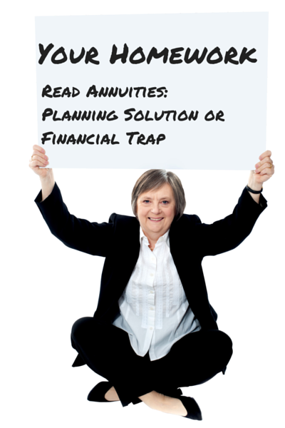 variable annuity fees that are too high are the problem.
