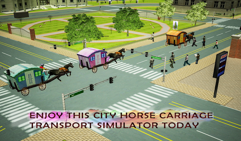 android Horse Carriage Transport Drive Screenshot 9