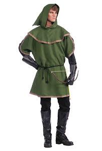 Dräkt, Robin tunika grön