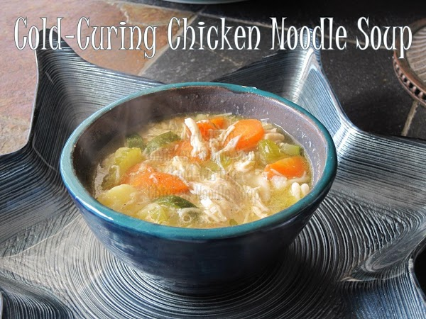 Cold-curing Chicken Noodle Soup Recipe