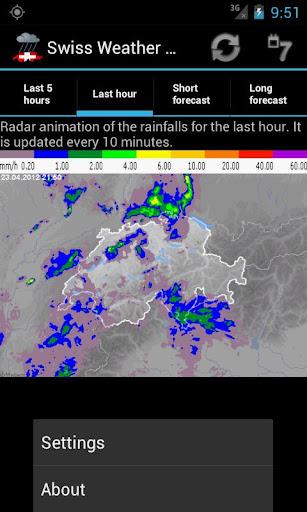 Swiss Weather Radar screenshot 3