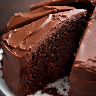 Best Fudgy Chocolate Cake.