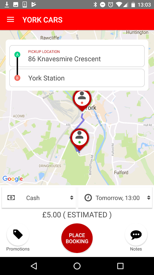York Cars- screenshot